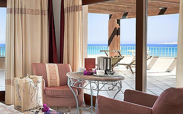 Hotel La Duna Bianca Sardinien